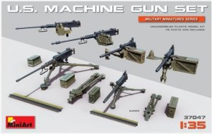 MIA37047 - Miniart 1/35 U.S. Machine Gun Set