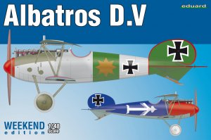EDU8408 - Eduard Models 1/48 ALBATROS D.V [WEEKEND ED.]