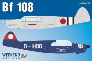 EDU8479 - Eduard Models 1/48 BF 108 [WEEKEND ED]