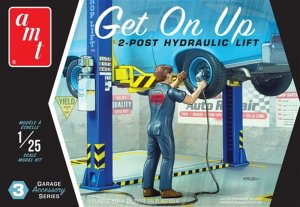 AMTPP017 - AMT 1/25 GET ON UP HYDRAULIC LIFT