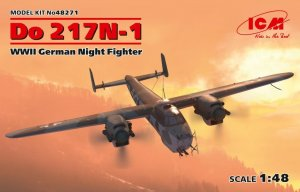ICM48271 - ICM 1/48 Dornier Bo 217N-1 - WW II German Night Fighter