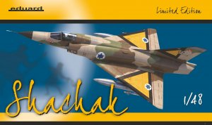 "EDU11128 - Eduard Models 1/48 ""SHACHAK"" MIRAGE III [Limited Edition]"