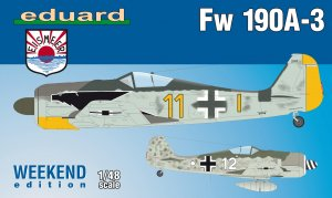 EDU84112 - Eduard Models 1/48 FW 190A-3 [WEEKEND ED]