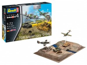 "REV03352 - Revell 1/72 75th Anniversary ""D-Day"" [ Diorama Set ]"