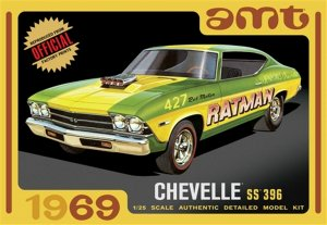 AMT1138 - AMT 1/25 1969 CHEVELLE SS 396