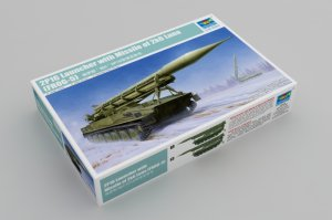 TRP09545 - Trumpeter 1/35 2P16 Launcher with Missle of 2k6 Luna (FROG-5)