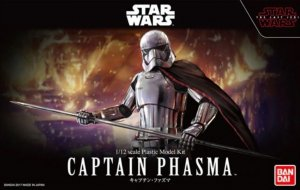 BAN0219776 - Bandai 1/12 Star Wars: Captain Phasma - The Last Jedi