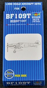 TRP06279 - Trumpeter 1/350 BF109T 9 (6PCS)
