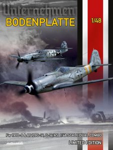 EDU11125 - Eduard Models 1/48 BODENPLATTE [LTD.ED.] DUAL COMBO (FW 190D-9 & BF 109G-14/AS)