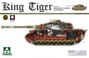 TKM2045S - Takom 1/35 KING TIGER HENSCHEL W/ZIMMERIT FULL INTERIOR