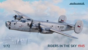 EDU2123 - Eduard Models 1/72 'RIDERS IN THE SKY' 1945 [LTD.ED.] LIBERATOR (HAS KIT W EXTRAS) *CDN*