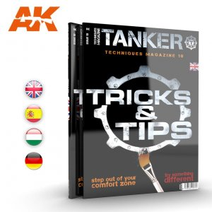 AKIAK4838 - AK Interactive Tanker #10 Tips & Tricks
