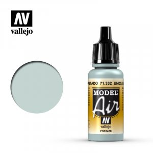 VLJ71332 - Vallejo Type - Model Air: Underside Blue Faded - 17mL Bottle - Acrylic / Water Based