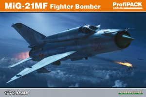 EDU70142 - Eduard Models 1/72 MIG-21MF FIGHTER BOMBER (PROFIPACK ED.)