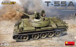 MIA37022 - Miniart 1/35 T-55A Late Mod. 1965 - Interior Kit