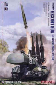MENSS014 - Meng 1/35 9K37M1 AIR DEFENSE SYSTEM