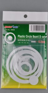 TRP09949 - Trumpeter Plastic Circle Board D-Set - 0.3mm