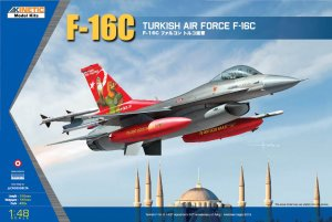 KIN48069 - Kinetic 1/48 TURKISH AIRFORCE F-16C