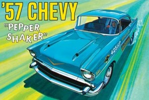 "AMT1079 - AMT 1/25 1957 CHEVY ""PEPPER SHAKER"""