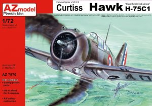 AZMAZ7570 - AZ Models 1/72 CURTISS HAWK H-75C1 'CZECH ACES'