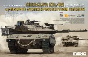 MENTS036 - Meng 1/35 Merkava Mk.4M With Trophy Active Protection System