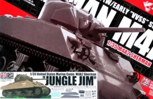 "ASUAS-002S - Asuka Model 1/35 U.S. Marine Corps M4A2 Sherman ""Jungle Jim"" w/Value Gear Resin Parts"