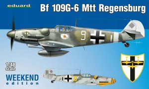EDU84143 - Eduard Models 1/48 Bf 109G-6 MTT Regensburg [Weekend Edition]