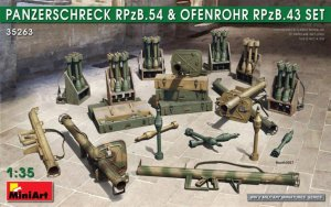 MIA35263 - Miniart 1/35 Panzerschreck RPzB.54 and Ofenrohr RPzB.43 Set