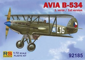 RSM92185 - RS Models 1/72 AVIA B-534 1ST VERSION