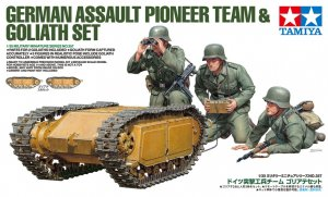 TAM35357 - Tamiya 1/35 GERMAN PIONEERS W/GOLIATH