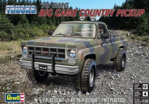 REV85-7226 - Revell 1/24 1978 GMC BIG GAME Country Pickup - Trucks Series