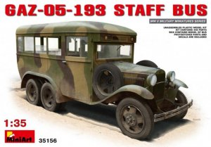 MIA35156 - Miniart 1/35 GAZ-05-193 Staff Bus