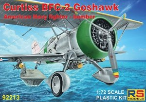 RSM92213 - RS Models 1/72 CURTISS BFC-2 GOSHAWK