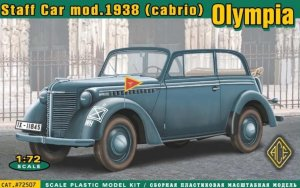 ACE72507 - ACE 1/72 Olympia Staff Car Model 1938 (Cabriolet)