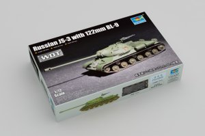 TRP07163 - Trumpeter 1/72 Russian JS-3 with 122mm BL-9 ( WOT )