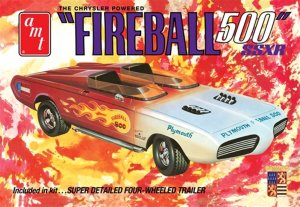 AMT1068 - AMT 1/25 Fireball 500 SSXR - Barris Kustom - With Detailed Trailer