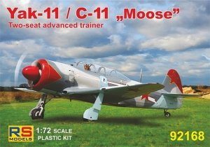 "RSM92168 - RS Models 1/72 YAK-11 / C-11 ""MOOSE"""
