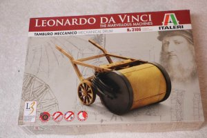 ITA3106 - Italeri da Vinci Mechanical Drum