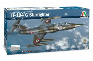 ITA2509 - Italeri 1/32 TF-104 G Starfighter *CDN*