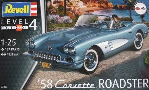 REV07037 - Revell 1/25 1958 Corvette Roadster