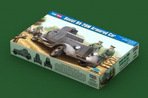 HBB83884 - Hobbyboss 1/35 Soviet BA-20M Armored Car