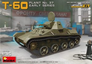 MIA35224 - Miniart 1/35 T-60 Plant No. 37 - Early Series - Interior Kit