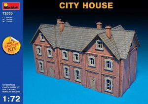 MIA72030 - Miniart 1/72 City House - Multi-Colored Kit