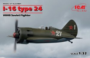 ICM32001 - ICM 1/32 I-16 Type 24 - WW II Soviet Fighter