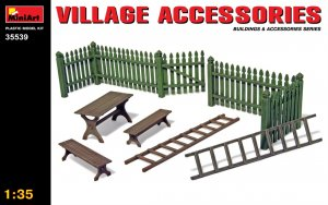 MIA35539 - Miniart 1/35 Village Accessories