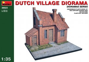MIA36023 - Miniart 1/35 Dutch Village Diorama - Dioramas Series