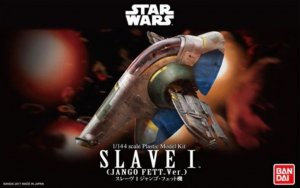 BAN0215637 - Bandai 1/144 Star Wars: Slave I (Jango Fett Version)