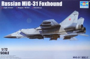 TRP01679 - Trumpeter 1/72 Russian MIG-31 FOXHOUND