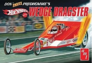 AMT1049 - AMT 1/25 HOT WHEELS WEDGE DRAGSTER