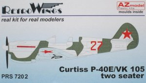 AZMPRS7202 - AZ Models 1/72 CURTISS P-40E/VK-105 TWIN SEATER